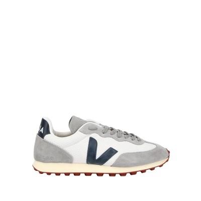 VEJA スニーカー&テニスシューズ(ローカット) グレー 41 革 / 紡績繊維 スニーカー&テニスシューズ(ローカット)