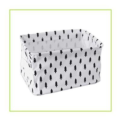 yxsian69g Storage Basket, Linen Dot Star Tree Clothes Storage Basket Sundries Underwear Organizer Box Dot【並行輸入品】