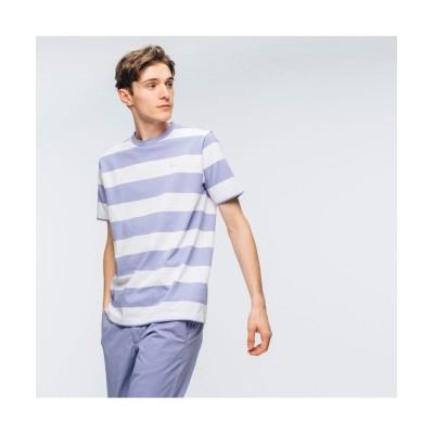 【ラコステ】 ビックボーダーTシャツ メンズ ライト ブルー 2(日本サイズS) LACOSTE