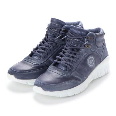 ヨーロッパコンフォートシューズ EU Comfort Shoes BCN ハイカットスニーカー(C-1040) (ブルー)