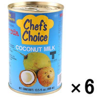 ユウキ食品ココナッツミルク ココナツミルク(4号缶)400g 1セット(6缶) ユウキ食品