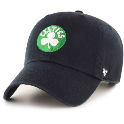 フォーティセブン 47 メンズ キャップ 帽子 Boston Celtics Clean Up Adjustable Hat