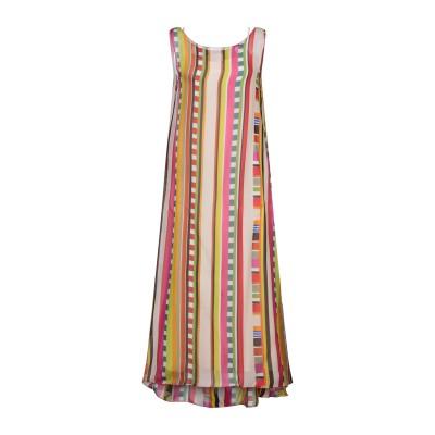 MALÌPARMI ロングワンピース&ドレス アイボリー 42 ポリエステル 100% ロングワンピース&ドレス