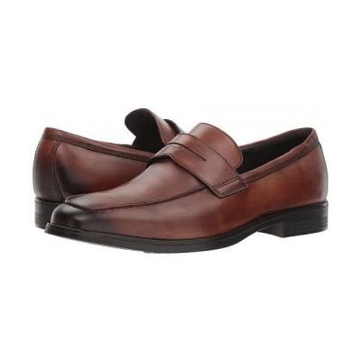 ECCO エコー メンズ 男性用 シューズ 靴 ローファー Melbourne Loafer - Amber