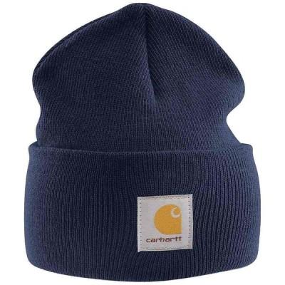 カーハート Carhartt ユニセックス ニット ニットキャップ 帽子 Acrylic Watch Hat Navy