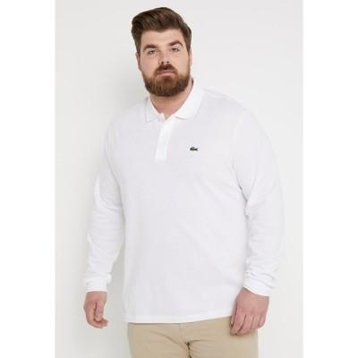 ラコステ カットソー メンズ トップス Polo shirt - white