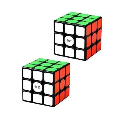 2 Pack 3X3X3 Speed Cube 2PC Magic Cube Puzzle Bundle