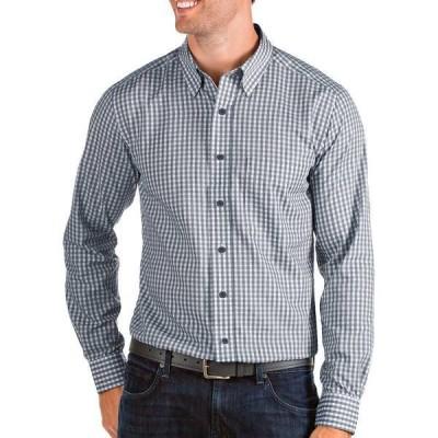 アンティグア メンズ シャツ トップス Antigua Men's Structure Long Sleeve Shirt