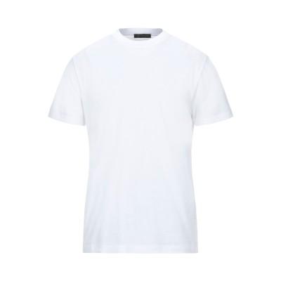 VERSACE T シャツ ホワイト S コットン 100% / レーヨン T シャツ