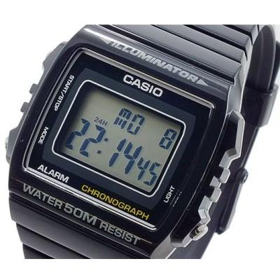 カシオ CASIO クオーツ メンズ デジタル 腕時計 W-215H-1A ブラック