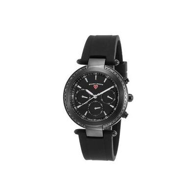 スイスレジェンド 腕時計 スイス レジェンド レディース 腕時計 Madison 38ミリ SL-16175SM-BB-01 ブラック ダイヤル