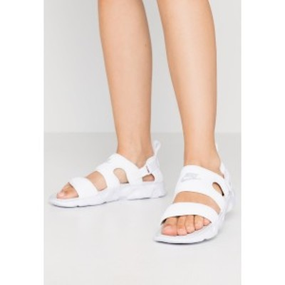 ナイキ レディース サンダル シューズ OWAYSIS - Sandals - white/pure platinum white/pure platinum