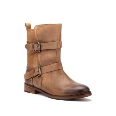 ビンテージファンドリー レディース ブーツ&レインブーツ シューズ Sherry Buckled Leather Boot BROWN