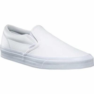 ヴァンズ スリッポン・フラット Classic Slip-On Classic Tumble True White
