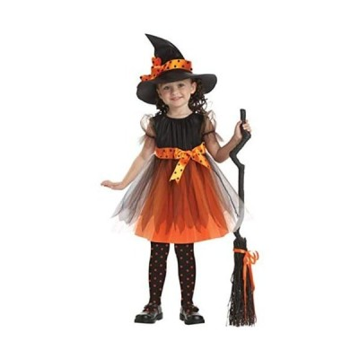 ハロウィン コスプレ キッズ かぼちゃ こうもり 赤ずきん コスチューム 魔女 蜘蛛 くも 仮装 衣装 小悪魔 悪魔(Type C 160cm)