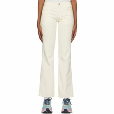 ERL レディース ボトムス・パンツ Off-White Corduroy Trousers Cream