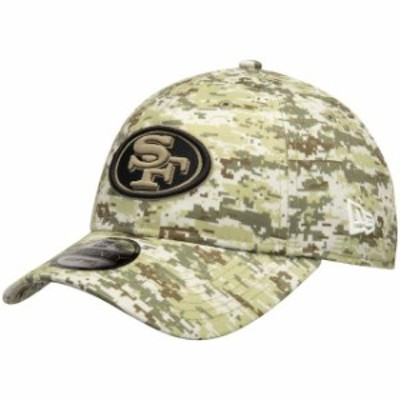 New Era ニュー エラ スポーツ用品  New Era San Francisco 49ers Camo Digi 9TWENTY Adjustable Hat