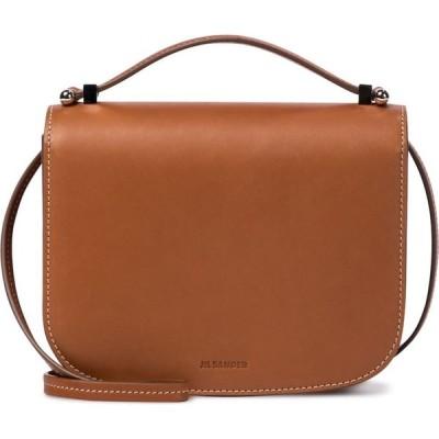 ジル サンダー Jil Sander レディース ショルダーバッグ バッグ small leather crossbody bag Cognac