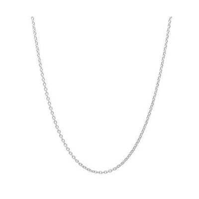 """Pori Jewelers Genuine Platinum 950 Solid Diamond Cut Anchor Chain Anklet/Necklace -1.0mm Thick - Available in 10""""-18"""" (10)【並行輸入品"""