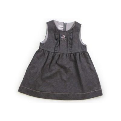 ファミリア familiar ジャンパースカート 80サイズ 女の子 子供服 ベビー服 キッズ