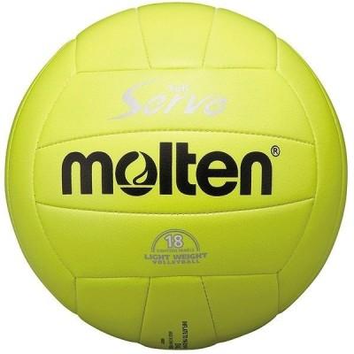 モルテン Molten バレーボール4号球 ソフトサーブ 軽量 レモン EV4L