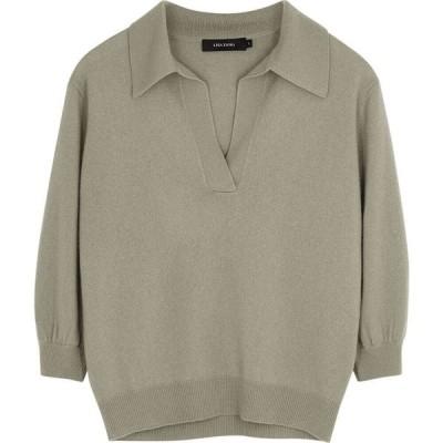 リサ ヤン Lisa Yang レディース ニット・セーター トップス kimberly grey cashmere jumper Grey
