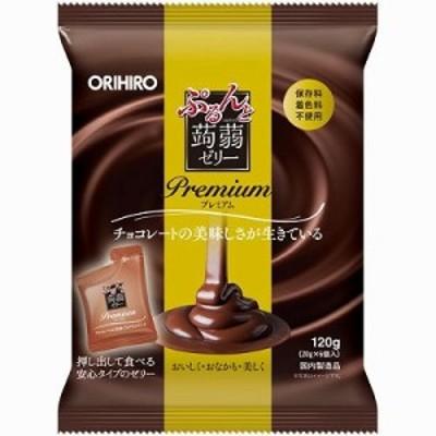 ぷるんと蒟蒻ゼリープレミアム チョコレート  (20g×6個)24袋