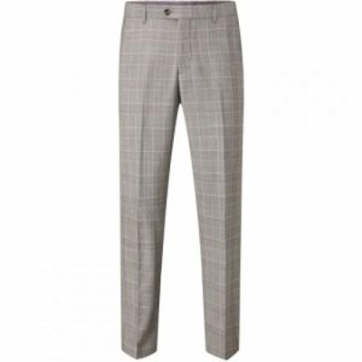 スコープス Skopes メンズ スラックス ボトムス・パンツ Mazara Wool Suit Trouser Grey