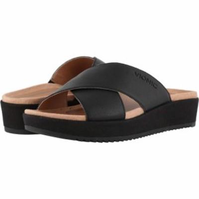 バイオニック VIONIC レディース サンダル・ミュール シューズ・靴 Hayden Black
