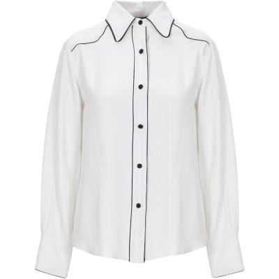 テッサ .TESSA シャツ ライトグレー 46 アセテート 69% / シルク 31% シャツ