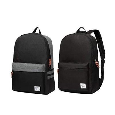 VASCHY Lightweight Water Resistant School Backpack for Teenager Bundle