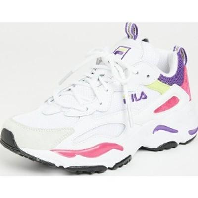 (取寄)フィラ レディース レイ トレーサー スニーカー Fila Women's Ray Tracer Sneakers White Magenta ElectricPurple 送料無料