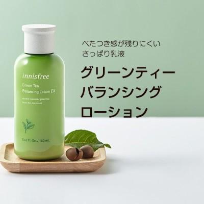 イニスフリー innisfree グリーンティーバランシングローション (乳液,160ml) 韓国コスメ
