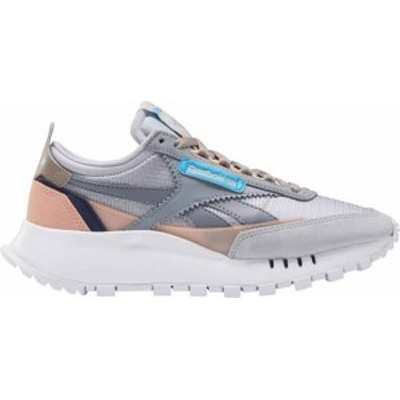 リーボック レディース スニーカー シューズ Reebok Women's Classic Leather Legacy Shoes Grey/Peach