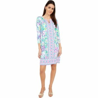 リリーピュリッツァー Lilly Pulitzer レディース ワンピース UPF 50+ Nadine Dress Multi Lillys Favorite Things Engineered Chilly Li