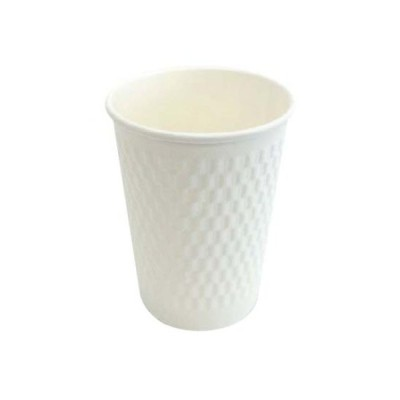 【代引き 不可】1000個 KMW-240 ホワイト(満杯容量 260ml) KMコップ 二重構造 業務用 断熱 耐熱 カップ 紙コップ (本体のみ)1000個入 送料無料