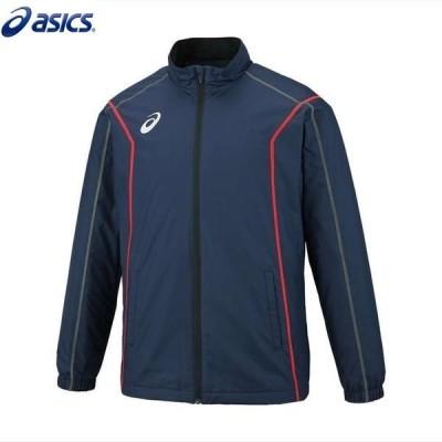 asics/アシックス 2031A240 トレーニング メンズ 裏トリコットブレーカージャケット(ステッチ)ピーコート