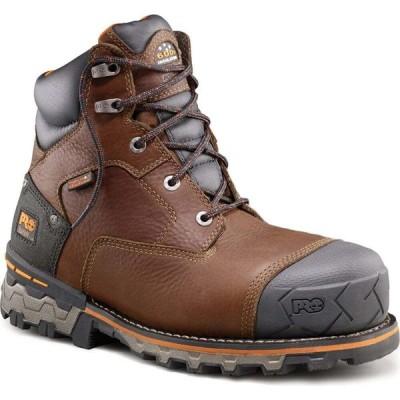 ティンバーランド TIMBERLAND PRO メンズ ブーツ ワークブーツ シューズ・靴 Boondock 6 inch Composite Toe Work Boots BROWN