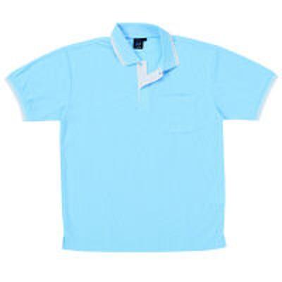 自重堂自重堂 半袖ポロシャツ 男女兼用 サックス 5L 85274(取寄品)