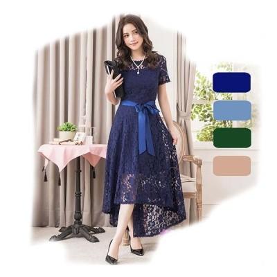 結婚 式 ドレス ぽっちゃり S-3L 大きいサイズ レディース 予約 パーティードレス 袖あり 半袖 パーティー 二次会 結婚式 YJ-88281