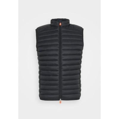 セーブザダック ジャケット&ブルゾン メンズ アウター ADAM - Waistcoat - black