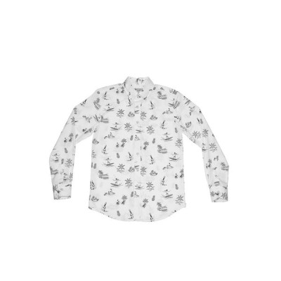 SUMMER SALE 30%OF HAWAIIハワイ アロハシャツ AVANTI アバンティ lsacs12-white