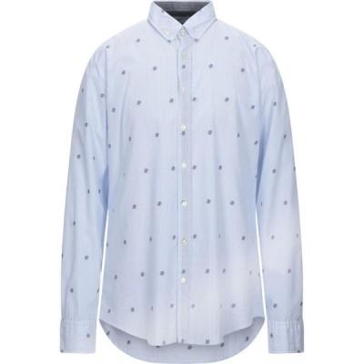 ヒューゴ ボス BOSS HUGO BOSS メンズ シャツ トップス Striped Shirt Azure