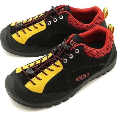 "KEEN キーン スニーカー ジャスパー ロックス エスピー M JASPER ""ROCKS"" SP 1023017 SS20 メンズ アウトドアシューズ 靴 Black Stone ブラック系"
