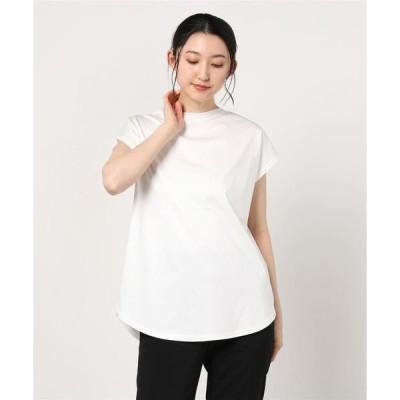 tシャツ Tシャツ SUGAR ROSE/シュガー ローズ/バックニットヘムカーブPO
