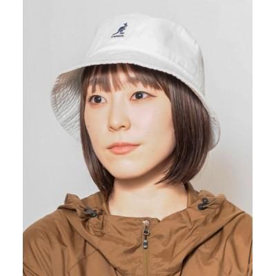 OVERRIDE / 【KANGOL】Washed Bucket/【カンゴール】ウォッシュド バケット ハット MEN 帽子 > ハット