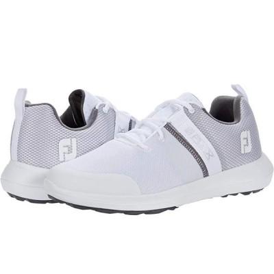 フットジョイ Flex メンズ スニーカー 靴 シューズ White