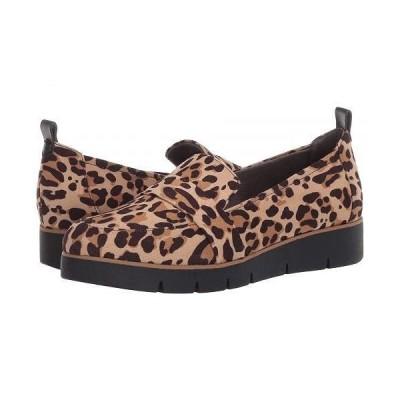 Dr. Scholl's ドクターショール レディース 女性用 シューズ 靴 ローファー ボートシューズ Webster - Tan/Black Leopard