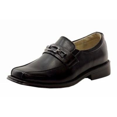 キッズ シューズ Easy Strider Boys 37418 Performance Fashion Loafer Black School Uniform Shoes