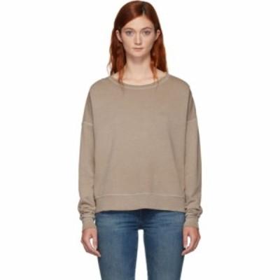 アモ Amo レディース ニット・セーター トップス brown classic sweater Putty